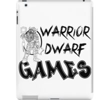 Warrior Dwarf Games iPad Case/Skin