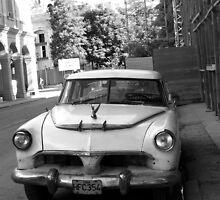Chevy in Havana, Cuba by apricotargante