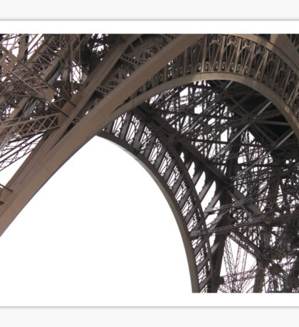 Bucket List: Eiffel Tower, Paris Sticker