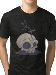 Skull Garden Tri-blend T-Shirt