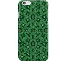 Green Modern Abstract Pattern iPhone Case/Skin