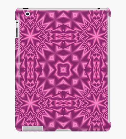Purple modern abstract pattern iPad Case/Skin