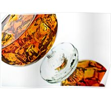 Brandy Glassware shot Poster