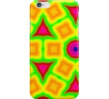 Colorful abstract modern pattern iPhone Case/Skin