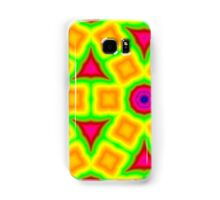 Colorful abstract modern pattern Samsung Galaxy Case/Skin