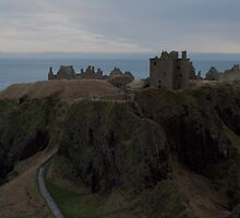 Dunottar Castle by Scott  Andrew