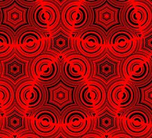 Ugly abstract red pattern by ZierNor