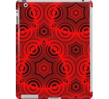 Ugly abstract red pattern iPad Case/Skin