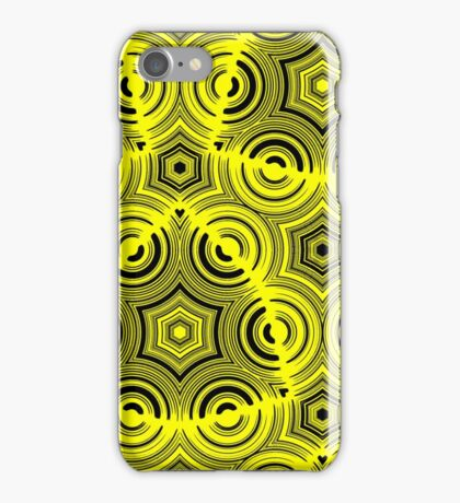 Ugly Yellow abstract pattern iPhone Case/Skin