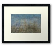 A whole lot of construction work Framed Print