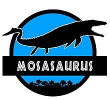 Jurassic World: Mosasaurus by marslegarde