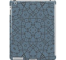 Blue Abstract Trendy Pattern iPad Case/Skin