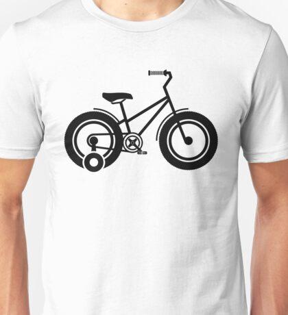 Training wheels Unisex T-Shirt