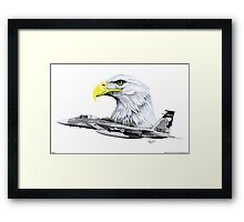 """Eagles"" Framed Print"