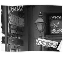 Bourbon Street New Orleans Poster