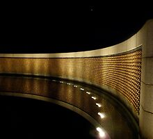 Reflections of the Fallen- World War II Memorial, Washington D.C. by Amanda Yetman