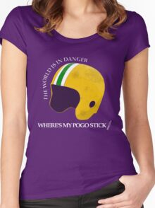 Where's My Pogo Stick? Women's Fitted Scoop T-Shirt