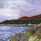 Newcastle and Mournes by Les Sharpe