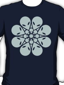 Alien / flower mandala T-Shirt