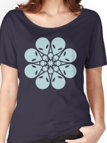 Alien / flower mandala Women's Relaxed Fit T-Shirt