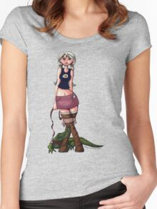 Leisurely Stroll  Women's Fitted Scoop T-Shirt