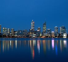 Perth Skyline by Andrew Pollard