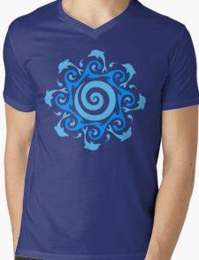 Turn The Tide  Mens V-Neck T-Shirt