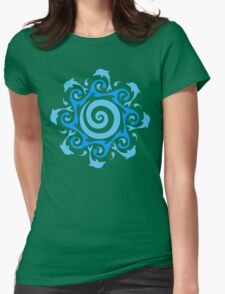 Turn The Tide  Womens Fitted T-Shirt