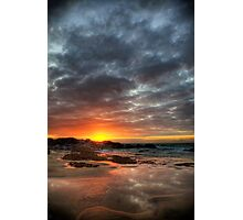 Sunset Over St Ives Photographic Print