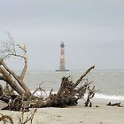 Morris Island Lighthouse by Peter Van Egmond