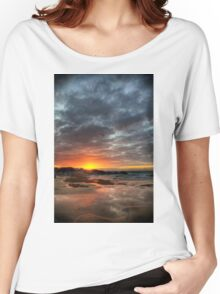 Sunset Over St Ives Women's Relaxed Fit T-Shirt
