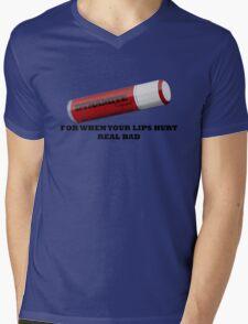 But My Lips Hurt Real Bad Mens V-Neck T-Shirt