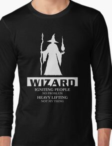 Wizard Inverted Long Sleeve T-Shirt