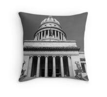 Capitolio, Havana, Cuba Throw Pillow