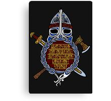 Drowned Raiders Canvas Print