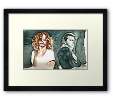 Chris and Ben Framed Print