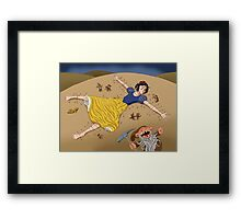 Gulliwhite's Travels Framed Print