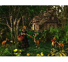 Deeping Bosk - Jemma's Apples Photographic Print