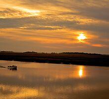 Sunset Cruise by Peter Van Egmond