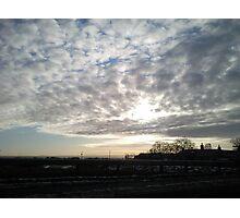 Sunset over Aberdeenshire Photographic Print