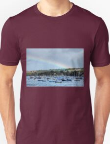 Rainbow Over Falmouth Harbour T-Shirt