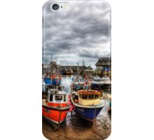 Mevagissey Harbour iPhone Case/Skin