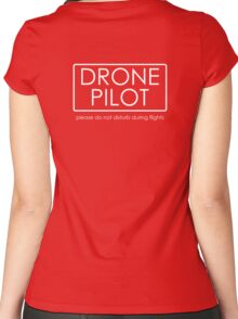 Drone Pilot - professional  Women's Fitted Scoop T-Shirt