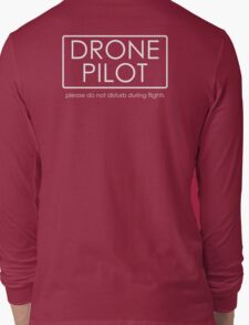 Drone Pilot - professional  Long Sleeve T-Shirt