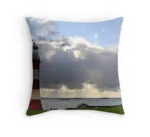 Plymouth Hoe Throw Pillow