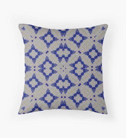 Modern abstract pattern Throw Pillow