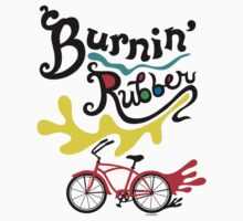 Burnin' Rubber  Kids Tee