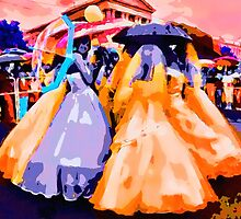 Umbrella Brides by David Rozansky