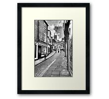 Steep Hill - Lincoln Framed Print