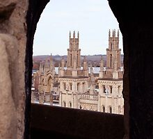 All Souls College by Gursimran Sibia